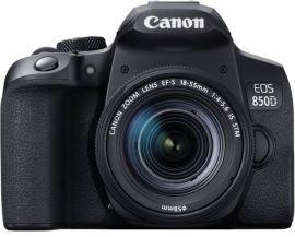 Акция на Фотоаппарат CANON EOS 850D 18-55 IS STM (3925C016) от MOYO