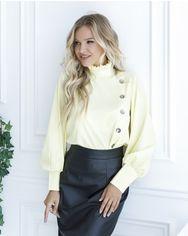 Блузы ISSA PLUS SA_10  XL желтый от Issaplus