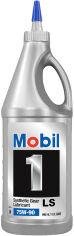 Акция на Трансмиссионное масло Mobil 1 Synthetic Gear Lube LS 75W-90 0.946 л (104361) от Rozetka
