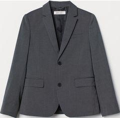 Пиджак H&M 63054297 164 см Темно-серый (PS2030000005680) от Rozetka