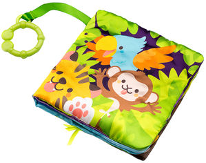 Игрушка Labebe Jungle Adventure Soft book 0m+ HYO41409 (623276) от Rozetka