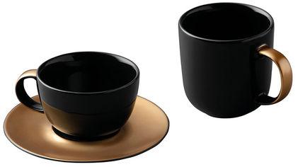 Набор для чая и кофе BergHOFF Ron Черный (1698006) от Rozetka