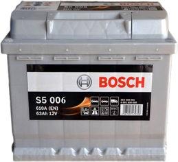 Автомобильный аккумулятор Bosch 63Аh (+/-) S5006 (610EN) (0092S50060) от Rozetka