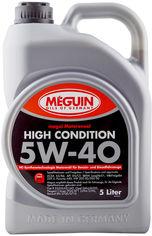 Акция на Моторное масло Meguin High Condition SAE 5W-40 5 л (4015838031986) от Rozetka