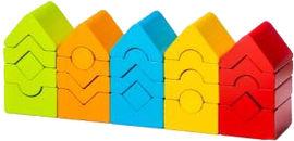 Деревянная пирамидка Cubika LD 13 25 деталей (15016) (4823056515016) от Rozetka