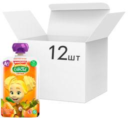 Упаковка детского пюре Фиксики Груша в пауче 90 г х 12 шт (4813163003353) от Rozetka