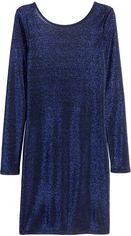 Платье H&M 3365122 32 Темно-синее (AB5000000264513) от Rozetka