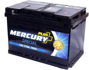 Акция на Автомобильный аккумулятор Mercury Special Plus 77А (-/+) (760EN) (P47291) от Rozetka