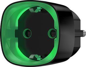 Радиоуправляемая умная розетка со счетчиком энергопотребления Ajax Socket Black (000012339) от Rozetka