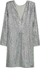 Платье H&M 05526436 32 Серебристое (GT02000000001632) от Rozetka