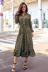 Платье ISSA PLUS 12148 M Хаки (2000443534863) от Rozetka