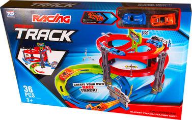 Акция на Гоночный трек Qunxing Toys Трехуровневый вираж (68832) (4812501159141) от Rozetka