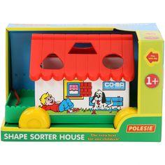 Игровой дом Polesie в коробке красный (6028-1) (4810344006028-1) от Rozetka