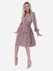 Платье ISSA PLUS 12099 S Светло-коричневое (2000423155637) от Rozetka