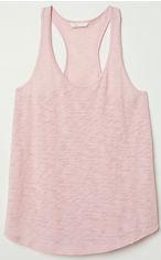 Майка H&M 06475057 L Пудрово-розовая (GT02000000001718) от Rozetka