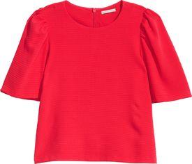 Блузка H&M 05485316 38 Красная (GT02000000001615) от Rozetka