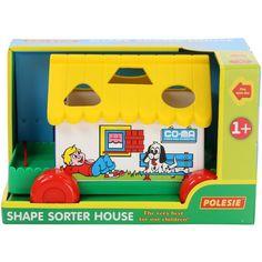 Игровой дом Polesie в коробке желтый (6028-2) (4810344006028-2) от Rozetka