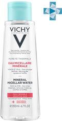 Мицеллярная вода Vichy Purete Thermale для чувствительной кожи лица и глаз 200 мл (3337875674942) от Rozetka