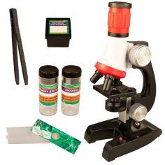 Игровой набор Qunxing Toys Микроскоп со светом Профессор (C2121) (4812501143720) от Rozetka
