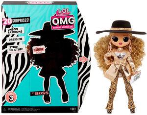 """Игровой набор с куклой L.O.L. SURPRISE! серии """"O.M.G"""" S3 – ЛЕДИ-БОСС (с аксессуарами) 567219 от Stylus"""