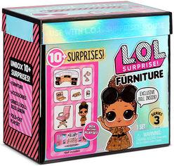 """Игровой набор с куклой L.O.L. SURPRISE! серии """"Furniture"""" S2 - КАБИНЕТ ЛЕДИ-БОСС 570042 от Stylus"""