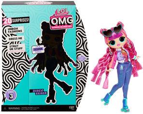 """Игровой набор с куклой L.O.L. SURPRISE! серии """"O.M.G"""" S3 - ДИСКО-СКЕЙТЕР (с аксессуарами) 567196 от Stylus"""