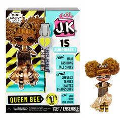 """Игровой набор с куклой L.O.L. SURPRISE! серии """"J.K."""" - КОРОЛЕВА ПЧЕЛКА 570783 от Stylus"""