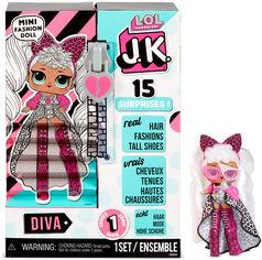 """Игровой набор с куклой L.O.L. SURPRISE! серии """"J.K."""" - ДИВА 570752 от Y.UA"""