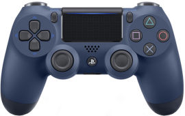 Беспроводной геймпад PlayStation Dualshock 4 Bluetooth PS4 Midnigth Blue от Rozetka