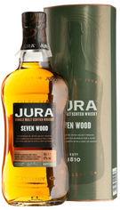 Акция на Виски Isle of Jura Seven Wood 0.7 л 42% в подарочной коробке (5013967012523) от Rozetka