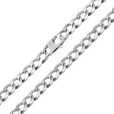 Серебряный браслет в панцирном плетении 000124497 20 размера от Zlato