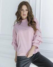 Блузы ISSA PLUS SA_21  XL розовый от Issaplus