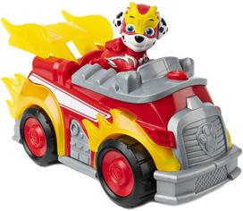 Спасательный автомобиль Spin Master Paw Patrol Щенячий патруль с водителем Маршал (серия Мегащенки) (SM16776/7271) от Rozetka