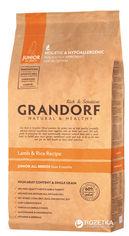 Сухой корм для собак Grandorf Junior ягненок с рисом 12 кг (5404009578129) от Rozetka