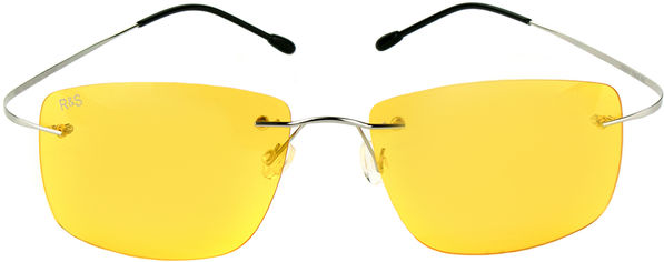 Акция на Поляризационные очки Road&Sport RS 02Y солнцезащитные Желтые (6902303345380) от Rozetka