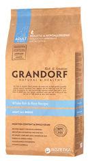Сухой корм для собак Grandorf White Fish & Rice All Breeds белая рыба 12 кг (5404009588128) от Rozetka