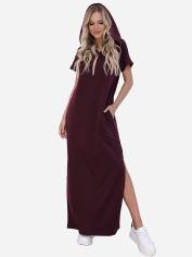 Платье ISSA PLUS 12091 M Бордовое (2000423156122) от Rozetka