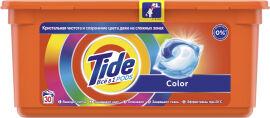 Акция на Капсулы для стирки Tide Все в 1 Color 30 шт (8001090758491) от Rozetka
