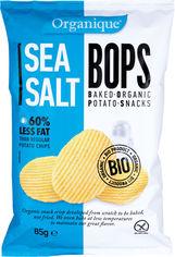 Акция на Упаковка чипсов картофельных McLloyd`s С морской солью органические 85 г х 10 шт (8588004638099/8588004638235) от Rozetka