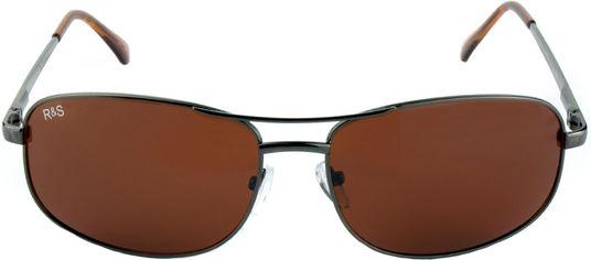 Акция на Поляризационные очки Road&Sport RS50812B солнцезащитные Коричневые (6902303345236) от Rozetka