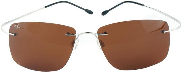 Акция на Поляризационные очки Road&Sport RS 02B солнцезащитные Коричневые (6902303345410) от Rozetka
