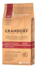 Сухой корм для собак Grandorf Duck & Potato All Breeds утка 3 кг (5404009592033) от Rozetka