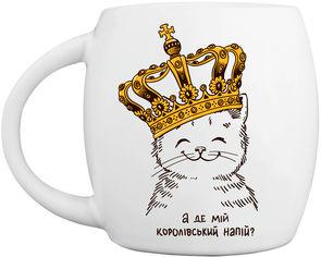 Чашка Orner Котенок в короне 330 мл (orner-0783) от Rozetka