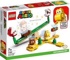 Акция на Конструктор LEGO Super Mario Мощная атака Растения-пираньи. Дополнительный набор (71365) от MOYO