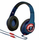 Гарнитура eKids iHome MARVEL Avengers Civil War Captain America Mic (VI-M40CW.UXV6) от Foxtrot