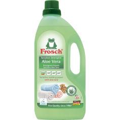 Концентрированное средство для стирки Frosch Алоэ Вера 1.5 л (4001499159510) от Foxtrot