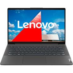 Акция на Ноутбук LENOVO IdeaPad 5 14IIL05 Graphite Grey (81YH00GFRA) от Foxtrot