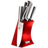 Набор ножей BERLINGER HAUS Metallic Line Burgundy Edition 6 пр (BH-2450) от Foxtrot