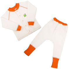 Комплект для малышей Jersey Style Эко Пупс капитон молочный 80 от Podushka