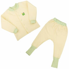 Комплект для малышей Jersey Style Эко Пупс капитон лимон 104 от Podushka